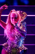 CHRISTINA AGUILERA Performs at Mercedes Benz Arena 07/11/2019