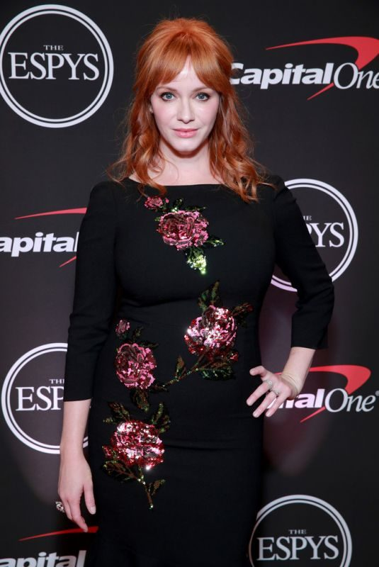 CHRISTINA HENDRICKS at 2019 ESPY Awards in Los Angeles 07/10/2019