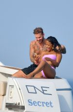 CHRISTINA MILIAN in Bikinis at a Boat in French Riviera 06/29/2019
