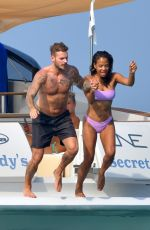 CHRISTINA MILIAN in Bikinis on Vacation in French Riviera 06/29/2019