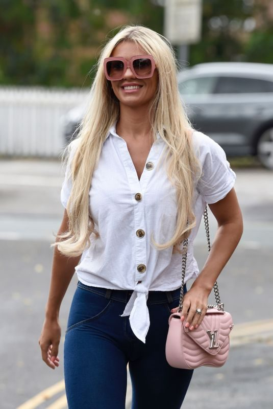 CHRISTINE MCGUINNESS Out in Hale Cheshire 07/31/2019