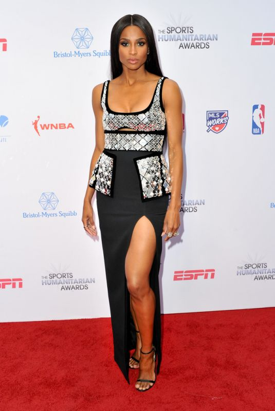 CIARA at 5th Annual Sports Humanitarian Awards Presented by ESPN in Los Angeles 07/09/2019