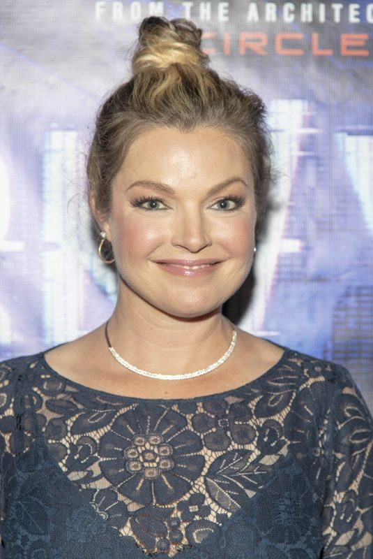 CLARE KRAMER at Darkweb Premiere at 2019 Comic-con in San Diego 07/19/2019