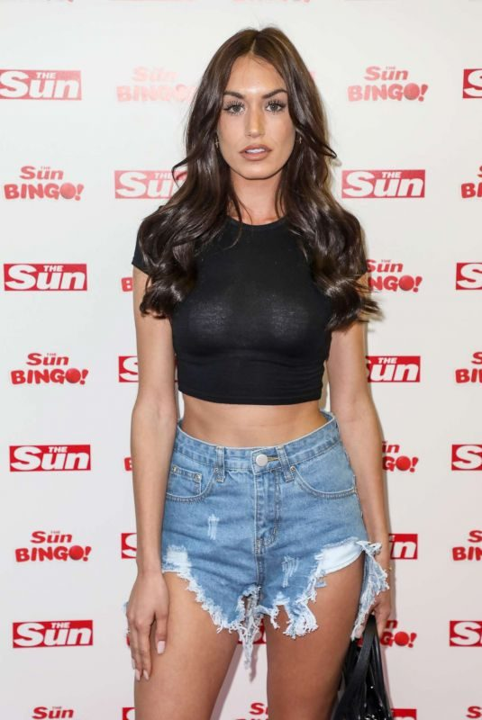 CLELIA THEODOROU at Sun's Love Island Finale Party in London 07/29/2019