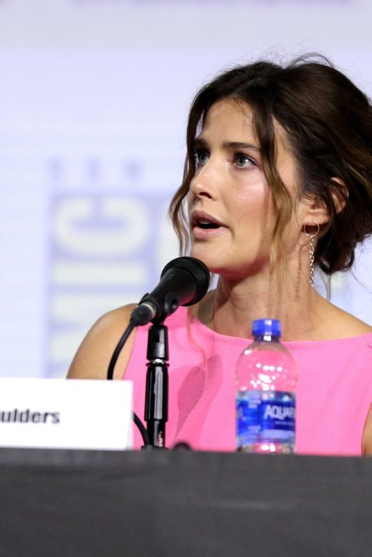 COBBIE SMULDERS at Women Who Kick Ass Panel at Comic-con International 2019 in San Diego 07/20/2019