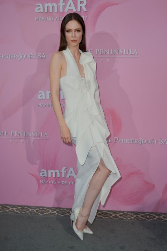 COCO ROCHA at Amfar Gala in Paris 06/30/2019