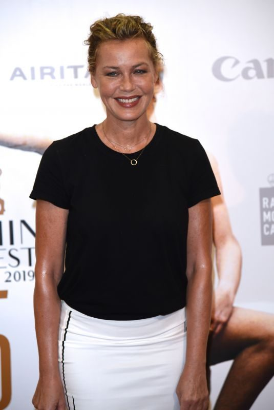 CONNIE NIELSEN at I'll Find You Photocall at 65th Taormina Film Fest 07/06/2019