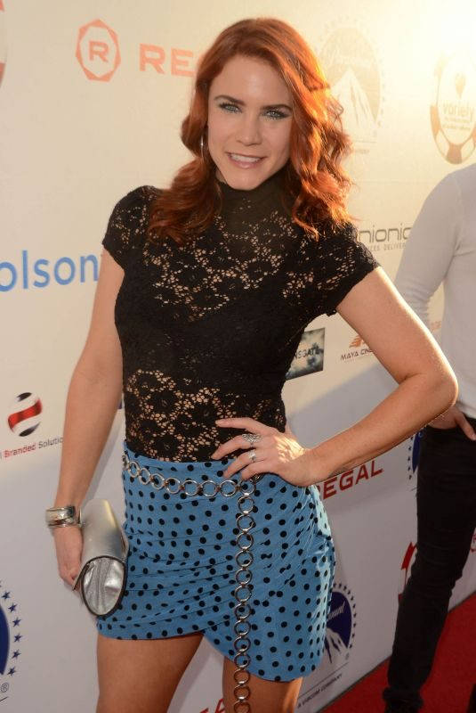 COURTNEY HOPE at 9th Annual Variety Children's Charity Poker and Casino Night in Hollywood 07/24/2019