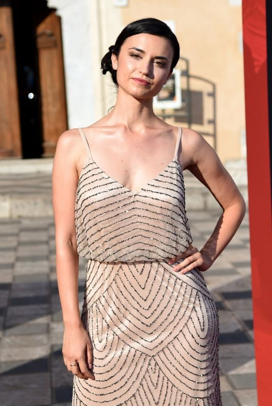 CRISTINA RAMBALDI at 65th Taormina Film Fest 07/02/2019