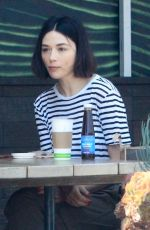 CRYSTAL REED Out for Lunch in Beverly Hills 07/10/2019