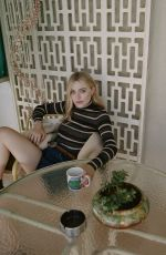 DAKOTA FANNING in Edit by Net-a-porter, July 2019