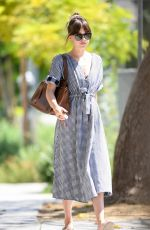 DAKOTA JOHNSON Out and About in Los Angeles 07/14/2019