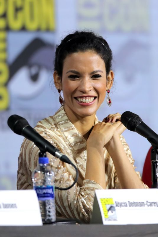 DANAY GARCIA at Fear the Walking Dead Panel at San Diego Comic-con 07/19/2019