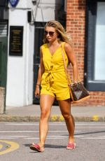 DANI DYER Arrives at a Tanning Salon in Essex 07/12/2019