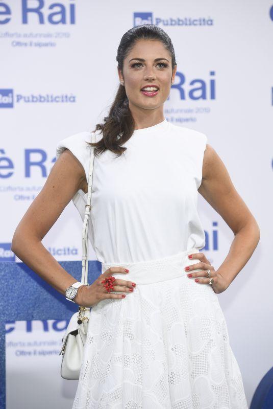 DANIELA FEROLLA at RAI Pogramming Launch in Milan 07/09/2019