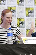 DEBORAH ANN WOLL at All Things RPG-e: Geek & Sundry Panel at 2019 Comic-con in San Diego 07/18/2019