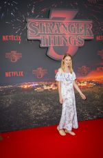 DEBORAH FRANCOIS at Stranger Things, Season 3 Premiere in Paris 07/04/2019