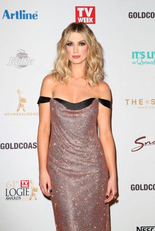 DELTA GOODREM at 2019 TV Week Logie Awards on the Gold Coast 06/30/2019