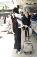 DEMI MOORE at LAX Airport in Los Angeles 07/29/2019