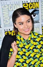 DEVERY JACOBS at The Order Photocall at Comic-con International in San Diego 07/18/2019