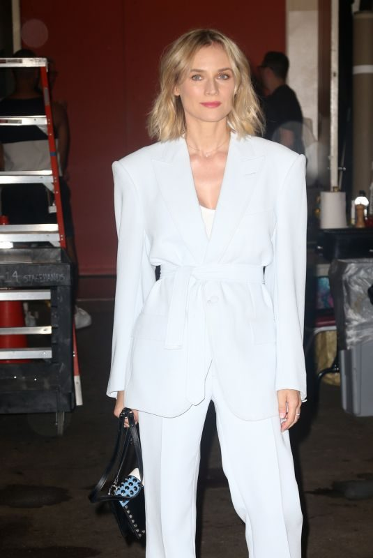 DIANE KRUGER Arrives at Live with Kelly & Ryan in New York 07/18/2019