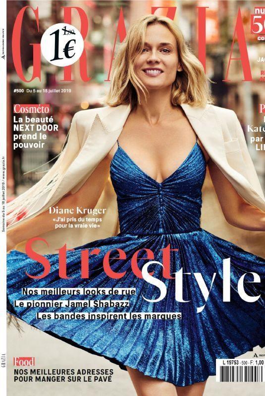 DIANE KRUGER in Grazia Magazine, France July 2019