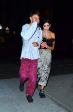 DUA LIPA and Anwar Hadid Night Out in New York 07/10/2019
