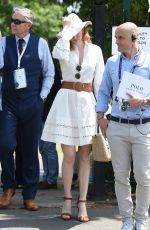 ELEANOR TOMLINSON at Wimbledon 2019 Tennis Championships in London 07/08/2019