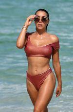 ELISA DE PANICIS in Bikini on the Beach in Miami 07/11/2019