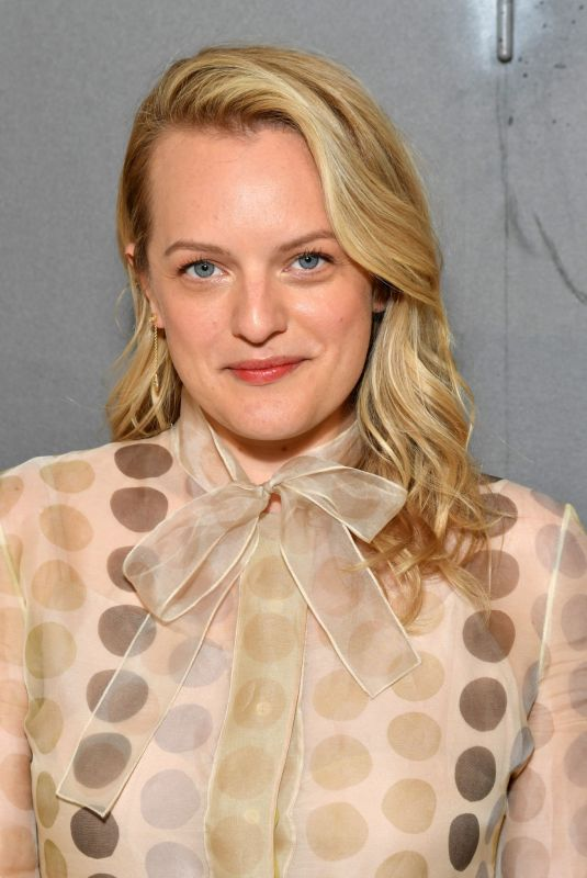 ELISABETH MOSS at Christian Dior Haute Couture Show at Paris Fashon Week 07/01/2019