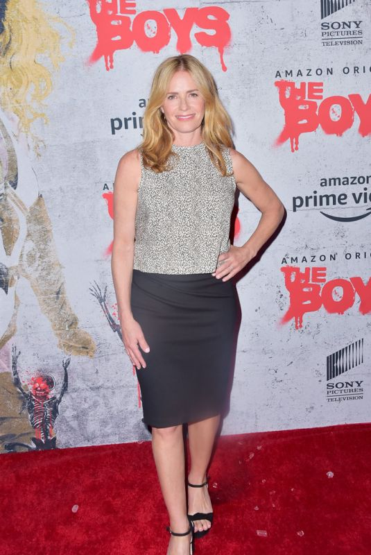 ELISABETH SHUE at The Boys Premiere at Comic-con in San Diego 07/19/2019