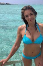 ELIZABETH HURLEY in Bikini - Instagram Photos, July 2019