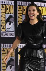 ELIZABETH OLSEN at Marvel Panel at Comic-con 2019 in San Diego 07/20/2019