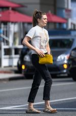 ELIZABETH OLSEN Out and About in Beverly Hills 07/08/2019