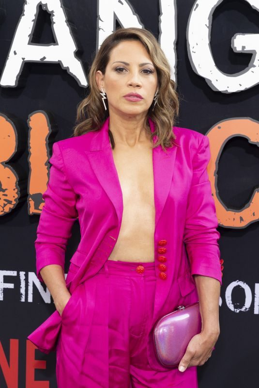 ELIZABETH RODRIGUEZ at Orange is the New Black Final Season Premiere in New York 07/25/2019