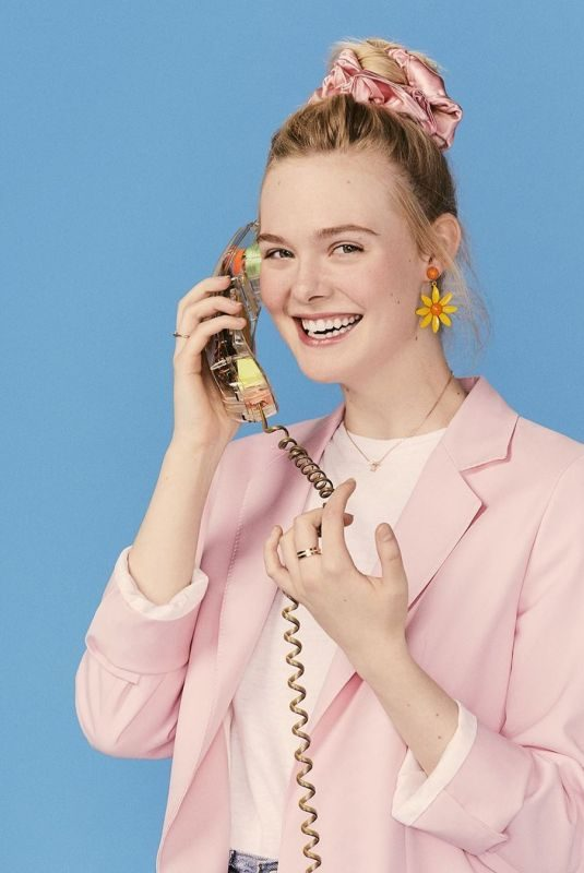 ELLE FANNING – The Baby-Sitters Club Promos