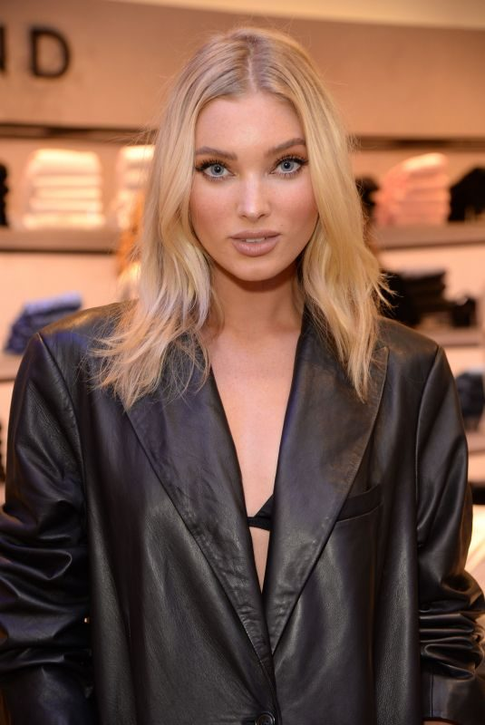 ELSA HOSK at J Brand x Elsa Hosk VIP Launch in London 07/18/2019
