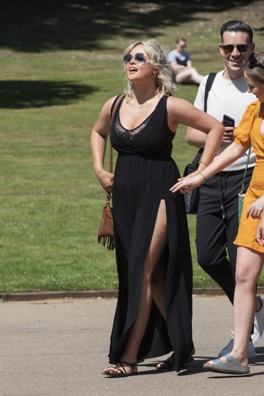 EMILY ATACK at British Summer Time Festival in London's Hyde Park 07/04/2019