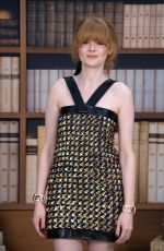 EMILY BEECHAM at Chanel Haute Couture Fall/Winter 2019/2020 Collection Show in Paris 07/02/2019