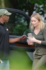 EMILY BLUNT Leaves a Restaurant in New York  06/02/2019