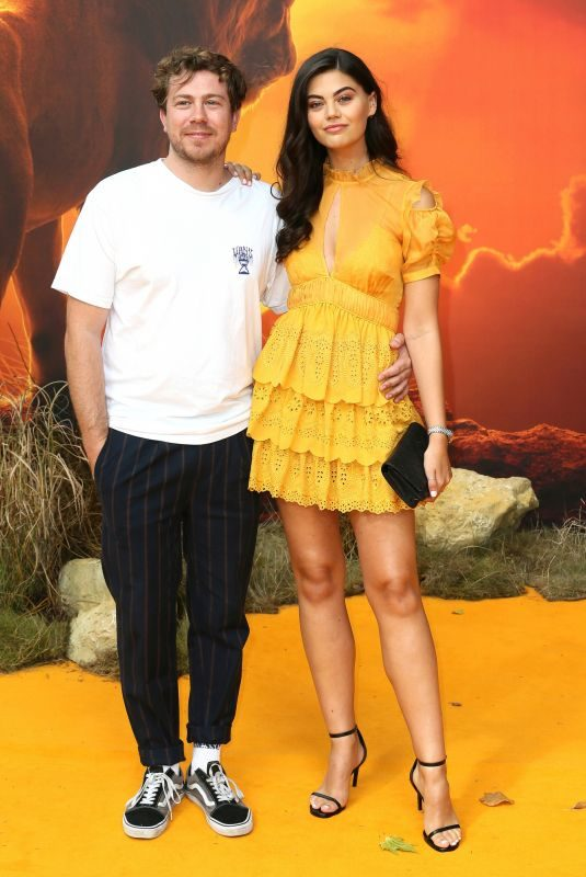EMILY CANHAM at The Lion King Premiere in London 07/14/2019