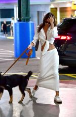 EMILY RATAJKOWSKI Out with Her Dog in New York 07/12/2019