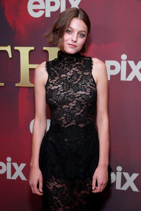 EMMA CORRIN at Pennyworth Premiere in Los Angeles 07/24/2019