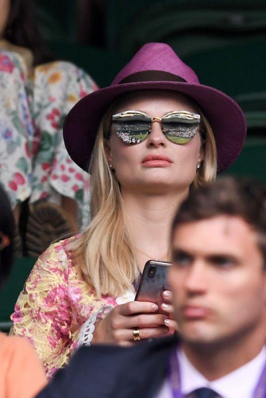 EMMA RIGBY at Wimbledon 2019 Tennis Championships in London 07/06/2019