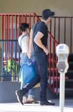 EMMA ROBERTS and GARRETT HEDLUND Out in Los Angeles 07/13/2019