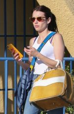 EMMA ROBERTS Bowling in Los Angeles 07/13/2019