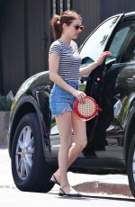 EMMA ROBERTS Out and About in Los Angeles 07/19/2019