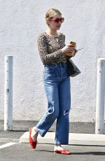 EMMA ROBERTS Out for Lunch in Los Feliz 07/07/2019