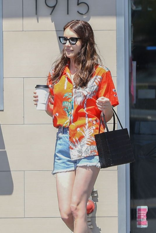 EMMA ROBERTS Out Shopping in Los Angeles 07/21/2019