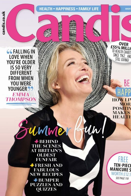 EMMA THOMPSON in Candis Magazine, July 2019